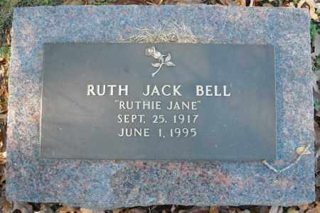 JACK BELL, RUTH - Faulkner County, Arkansas | RUTH JACK BELL - Arkansas Gravestone Photos