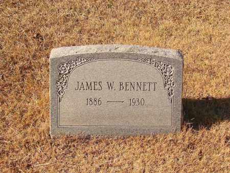 BENNETT, JAMES W. - Faulkner County, Arkansas | JAMES W. BENNETT - Arkansas Gravestone Photos
