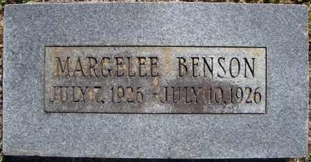 BENSON, MARGELEE - Faulkner County, Arkansas | MARGELEE BENSON - Arkansas Gravestone Photos