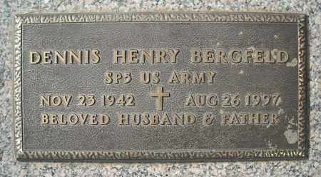 BERGFELD (VETERAN), DENNIS HENRY - Faulkner County, Arkansas   DENNIS HENRY BERGFELD (VETERAN) - Arkansas Gravestone Photos