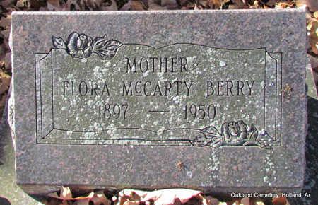 BERRY, FLORA - Faulkner County, Arkansas | FLORA BERRY - Arkansas Gravestone Photos