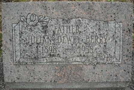 BERRY, JULIAN DEWEY - Faulkner County, Arkansas | JULIAN DEWEY BERRY - Arkansas Gravestone Photos