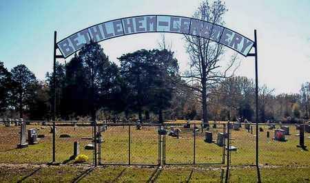 *BETHLEHEM CEMETERY SIGN,  - Faulkner County, Arkansas |  *BETHLEHEM CEMETERY SIGN - Arkansas Gravestone Photos