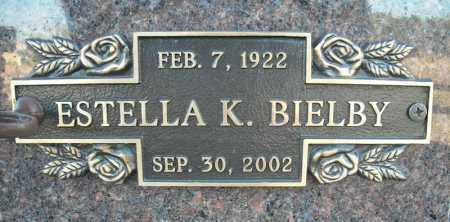 BIELBY, ESTELLA K. - Faulkner County, Arkansas   ESTELLA K. BIELBY - Arkansas Gravestone Photos