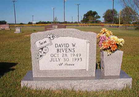 BIVENS, DAVID W. - Faulkner County, Arkansas   DAVID W. BIVENS - Arkansas Gravestone Photos