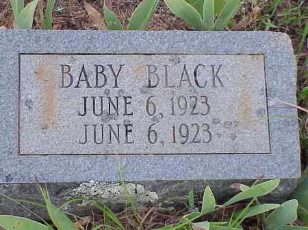 BLACK, BABY (INFANT) - Faulkner County, Arkansas | BABY (INFANT) BLACK - Arkansas Gravestone Photos