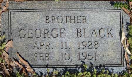 BLACK, GEORGE - Faulkner County, Arkansas   GEORGE BLACK - Arkansas Gravestone Photos