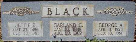 BLACK, GARLAND C. - Faulkner County, Arkansas | GARLAND C. BLACK - Arkansas Gravestone Photos