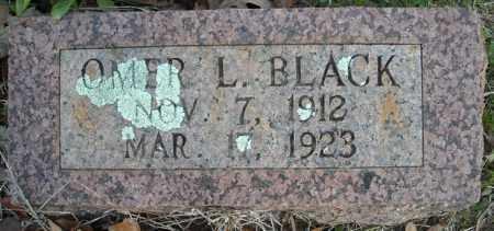 BLACK, OMER L. - Faulkner County, Arkansas   OMER L. BLACK - Arkansas Gravestone Photos