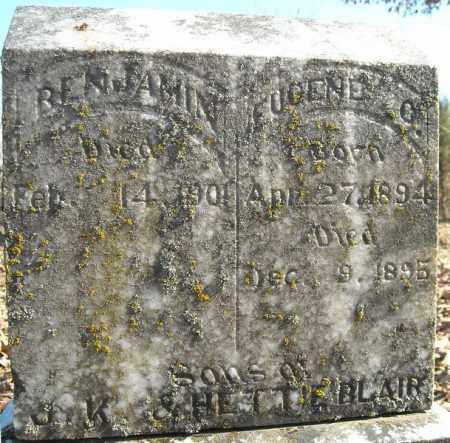 BLAIR, BEMJAMIN - Faulkner County, Arkansas | BEMJAMIN BLAIR - Arkansas Gravestone Photos