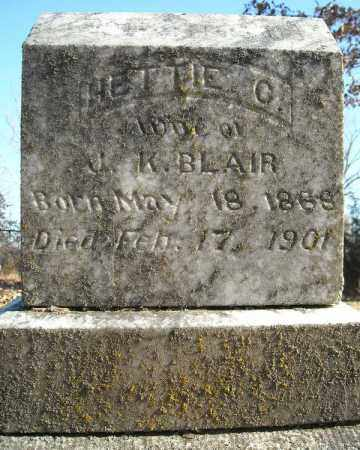 BLAIR, HETTIE C. - Faulkner County, Arkansas | HETTIE C. BLAIR - Arkansas Gravestone Photos