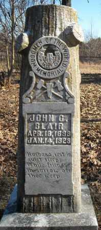 BLAIR, JOHN C. - Faulkner County, Arkansas   JOHN C. BLAIR - Arkansas Gravestone Photos