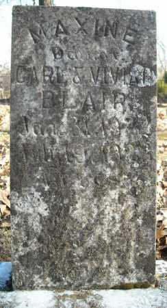 BLAIR, MAXINE - Faulkner County, Arkansas | MAXINE BLAIR - Arkansas Gravestone Photos