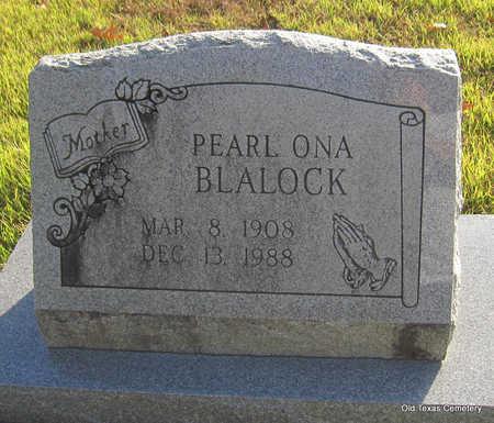 BLALOCK, PEARL ONA - Faulkner County, Arkansas   PEARL ONA BLALOCK - Arkansas Gravestone Photos