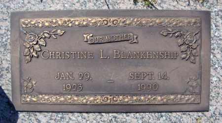 BLANKENSHIP, CHRISTINE L. - Faulkner County, Arkansas   CHRISTINE L. BLANKENSHIP - Arkansas Gravestone Photos
