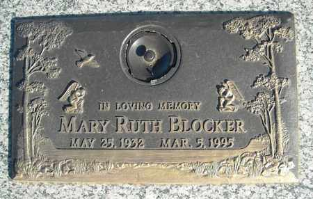 BLOCKER, MARY RUTH - Faulkner County, Arkansas | MARY RUTH BLOCKER - Arkansas Gravestone Photos
