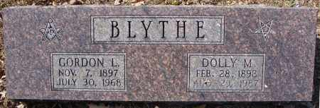 BLYTHE, DOLLY M. - Faulkner County, Arkansas   DOLLY M. BLYTHE - Arkansas Gravestone Photos