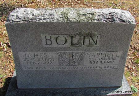 BOLIN, JAMES H. - Faulkner County, Arkansas | JAMES H. BOLIN - Arkansas Gravestone Photos