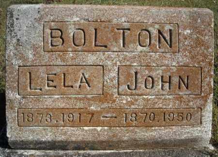 BOLTON, LELA - Faulkner County, Arkansas   LELA BOLTON - Arkansas Gravestone Photos