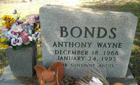 BONDS, ANTHONY WAYNE - Faulkner County, Arkansas | ANTHONY WAYNE BONDS - Arkansas Gravestone Photos