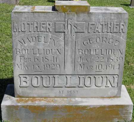 BOULLIOUN, MADELIN - Faulkner County, Arkansas | MADELIN BOULLIOUN - Arkansas Gravestone Photos