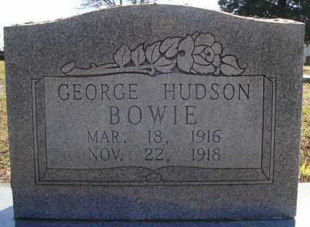 BOWIE, GEORGE HUDSON - Faulkner County, Arkansas   GEORGE HUDSON BOWIE - Arkansas Gravestone Photos