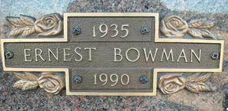 BOWMAN, ERNEST - Faulkner County, Arkansas   ERNEST BOWMAN - Arkansas Gravestone Photos