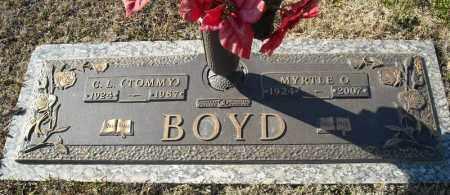 BOYD, MYRTLE O. - Faulkner County, Arkansas   MYRTLE O. BOYD - Arkansas Gravestone Photos