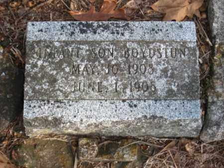 BOYDSTUN, INFANT SON - Faulkner County, Arkansas | INFANT SON BOYDSTUN - Arkansas Gravestone Photos