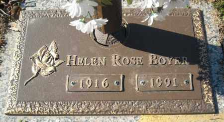 BOYER, HELEN ROSE - Faulkner County, Arkansas | HELEN ROSE BOYER - Arkansas Gravestone Photos