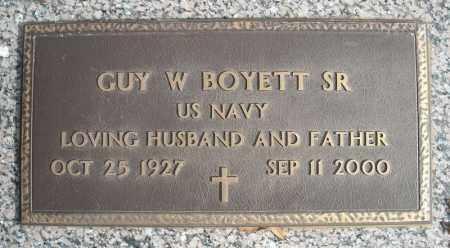 BOYETT, SR (VETERAN), GUY W - Faulkner County, Arkansas | GUY W BOYETT, SR (VETERAN) - Arkansas Gravestone Photos