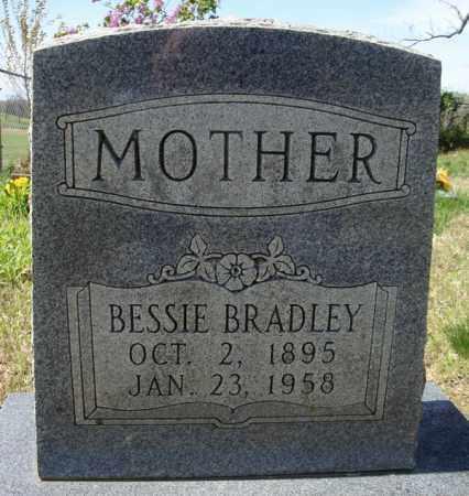 BRADLEY, BESSIE - Faulkner County, Arkansas   BESSIE BRADLEY - Arkansas Gravestone Photos