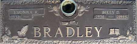 BRADLEY, BILLY D. - Faulkner County, Arkansas | BILLY D. BRADLEY - Arkansas Gravestone Photos
