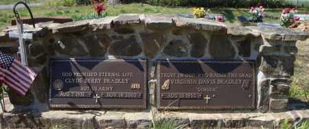 BRADLEY (FAMILY MARKER), CLYDE BERRY - Faulkner County, Arkansas   CLYDE BERRY BRADLEY (FAMILY MARKER) - Arkansas Gravestone Photos