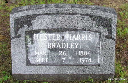HARRIS BRADLEY, HESTER - Faulkner County, Arkansas | HESTER HARRIS BRADLEY - Arkansas Gravestone Photos