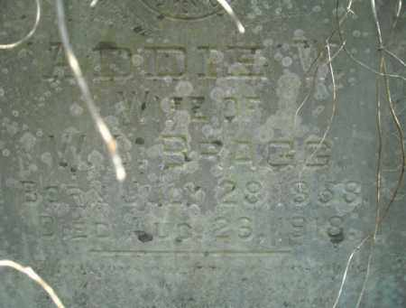 BRAGG, ADDIE W. - Faulkner County, Arkansas | ADDIE W. BRAGG - Arkansas Gravestone Photos