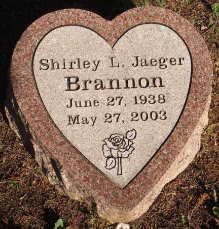 BRANNON, SHIRLEY L. - Faulkner County, Arkansas | SHIRLEY L. BRANNON - Arkansas Gravestone Photos