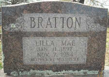 """BRATTON, LILLA MAE """"DOLL"""" - Faulkner County, Arkansas   LILLA MAE """"DOLL"""" BRATTON - Arkansas Gravestone Photos"""