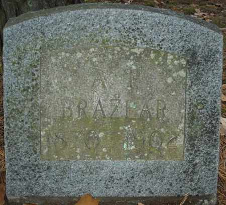 BRAZEAR, A.T. - Faulkner County, Arkansas | A.T. BRAZEAR - Arkansas Gravestone Photos