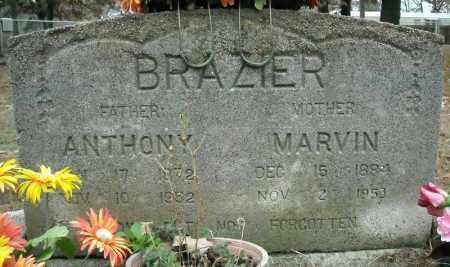 BRAZIER, MARVIN - Faulkner County, Arkansas | MARVIN BRAZIER - Arkansas Gravestone Photos