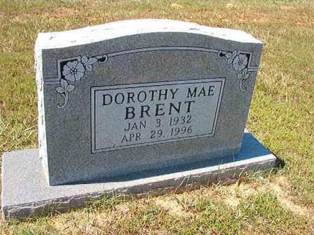 BRENT, DOROTHY MAE - Faulkner County, Arkansas | DOROTHY MAE BRENT - Arkansas Gravestone Photos