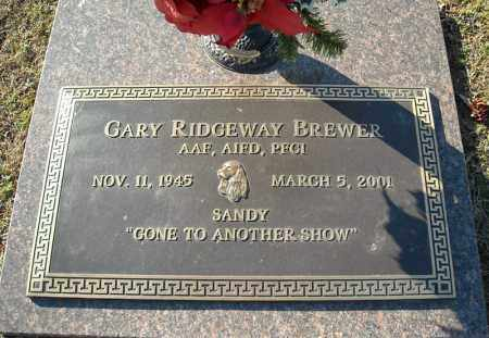 BREWER, GARY RIDGEWAY - Faulkner County, Arkansas   GARY RIDGEWAY BREWER - Arkansas Gravestone Photos