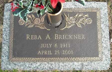 BRICKNER, REBA A. - Faulkner County, Arkansas   REBA A. BRICKNER - Arkansas Gravestone Photos