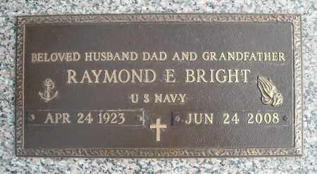 BRIGHT (VETERAN), RAYMOND E - Faulkner County, Arkansas   RAYMOND E BRIGHT (VETERAN) - Arkansas Gravestone Photos