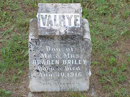 BRILEY, VALRYE - Faulkner County, Arkansas | VALRYE BRILEY - Arkansas Gravestone Photos