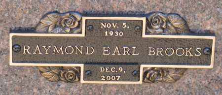 BROOKS, RAYMOND EARL - Faulkner County, Arkansas | RAYMOND EARL BROOKS - Arkansas Gravestone Photos
