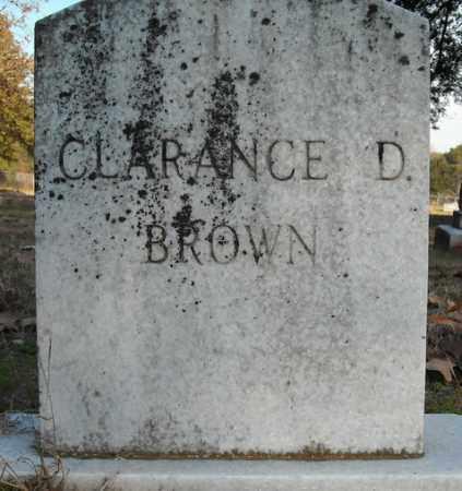 BROWN, CLARANCE D. - Faulkner County, Arkansas | CLARANCE D. BROWN - Arkansas Gravestone Photos