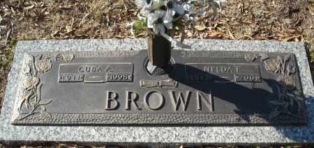 BROWN, NELDA E. - Faulkner County, Arkansas | NELDA E. BROWN - Arkansas Gravestone Photos