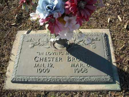 BROWN, CHESTER - Faulkner County, Arkansas | CHESTER BROWN - Arkansas Gravestone Photos