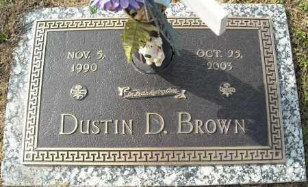 BROWN, DUSTIN D. - Faulkner County, Arkansas | DUSTIN D. BROWN - Arkansas Gravestone Photos